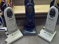 Lindhaus upright vacuums